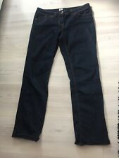 Ladies F&f Denim Jeans Size 10 Short Dark Blue