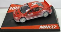 Ninco Peugeot 307 WRC Snow Affect Montecarlo 2004 1/32 Slot car # 50359
