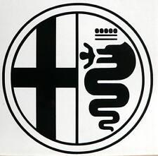 adesivo biscione Alfa Romeo auto car sticker decal snake biscia gtv 147 155 156