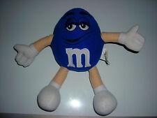 """M&M Blue 10"""" Bendy Plush Toy"""