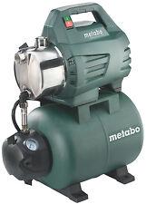 Metabo Hauswasserwerk HWW 3500/25 Inox 900 W 220 - 240 V Wasserwerk Pumpe Neu
