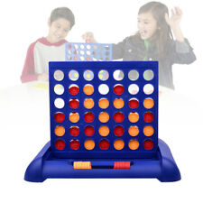 Connect Four In A Row 4 In A Line Board Game Toy Set Family Travel Fun Gift