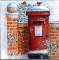 Charity Christmas Card Air Ambulance Service POSTBOX Envelopes 10 Pack