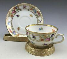 Vintage Schumann Dresden Bavaria Demitasse Cup And Saucer 1920