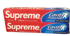 2 Pk New Supreme Colgate Toothpaste