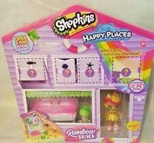 Shopkins Happy Places Rainbow Beach Lounging Around Surprise Me Pack Mini Doll