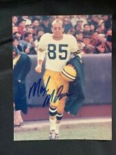 MAX MCGEE Autographed GREEN BAY PACKERS SUPERBOWL 1 8x10 Photo