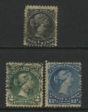 Canada Collection 3 QV Large Head Values Used