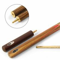 BCE C8L Hand Spliced RED ANTIARIS ¾ Joint English Pool Cue + Ext - 8.5mm Tip