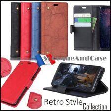 Etui coque housse Retro Style Cuir PU Leather wallet case Cover Xiaomi Mi 9