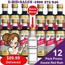 Aussie Red Rum - Bundy Style Spirit Essence x 12 Pack Promo @ $89.99 * Bonus
