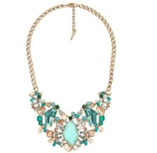 Chloe & Isabel Aquamarina Statement Necklace Sea Colors Retails $148 N407