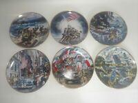 World War 2 World War II Franklin Mint Collectors Plates Full Set Of 6