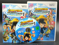 "NINTENDO WII SPIEL"" ONE PIECE UNLIMITED CRUISE 1 "" KOMPLETT"