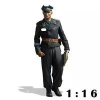 1/16 Resin Figure Model Kit German Soldiers Panzer Officer WWII WW2 Unpainted