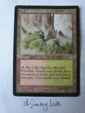 Wooded Foothills - Onslaught - Eng Good+ / Ex- magic mtg