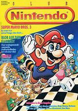 Club Nintendo Heft Magazin - Ausgabe 6 1991 Jahrgang 3