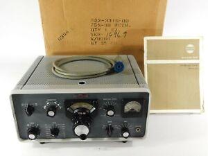 Collins 75S-3B Ham Radio Receiver w/ Box SN 16969 (untested for restoration)