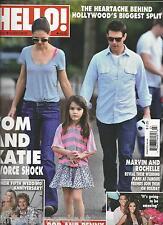Hello magazine Tom Cruise Katie Holmes Rod Stewart Marvin Humes Rochelle Wiseman