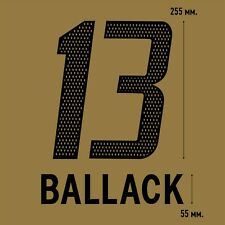 Ballack 13. Bayern Munich Away football shirt 2004 2005 FLEX NAMESET NAME SET