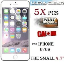 "5X Protecteur écran HD clair Apple iphone 6 6S 4.7"" clear screen protector pet"