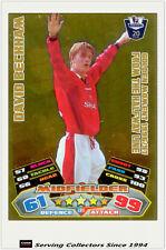 2011/12 Topps Premier League Match Attax Golden Moment GM11 David Beckham