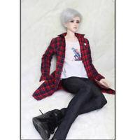 1//4 MSD BJD Clothes Oversize Black Hoodie Necklace BJD Coat DZ HZ AF AS Unisex
