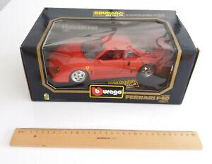 bburago, Model Ferrari F-40 (1/18,1987) unbenutzt, Originalschachtel,