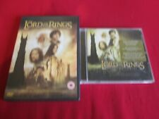 THE LORD OF THE RINGS: THE TWO TOWERS - DVD & CD SOUNDTRACK