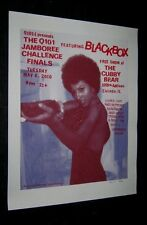 2010 Q101 CHICAGO PAM GRIER COFFY BLACKBOX #82 of 89 ARTIST SIGNED STEVE WALTERS