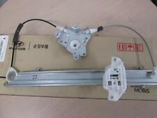 HYUNDAI EXCEL RIGHT FRONT WINDOW REG X3, POWER, 3DR HATCH, 03/96-09/00