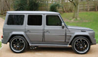 MERCEDES G CLASS W463 SIDE VENTS / FENDERS VENTS
