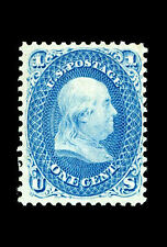 Incorniciato stampa-Benjamin Franklin z-grill TIMBRO 1868 valutate a $2,970,000 PICTURE