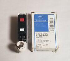 Westinghouse GFCB120 Single 1 Pole 20 Amp 120V Ground Fault Circuit Breaker