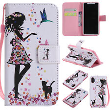 Fashion Wallet Pretty Girl Women Hot Flip Antislip Case Cover For Various Phone