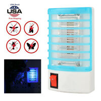 Mini LED Electric Mosquito Fly Bug Insect Trap Zapper Killer Night Lamp USA Plug
