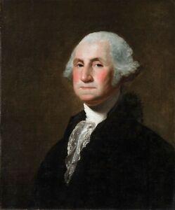 George Washington Gilbert Stuart Portrait President USA 8 x 10 Photo Picture