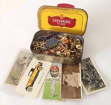 Erinmore Flake Tobacco Tin Cigarette Cards Pin Badge Mixed Lot Rare (B53)
