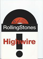 ROLLING STONES HIGH WIRE UNPLAYED ORIGINAL SINGLE FROM HOLLAND
