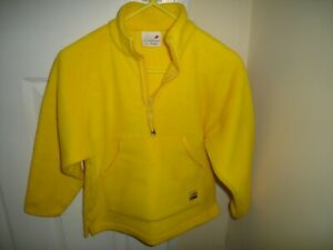 Ladybird Boys Yellow Fleece Top  Age 6 - 7 Years  VGC