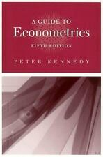 A Guide to Econometrics, 5th Edition (MIT Press) by Kennedy, Peter E.