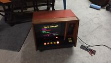 Vintage Coin Operated ARCADE Table Top Bar Machine Blackjack 21 POKER VIDEO GAME
