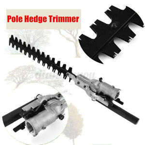 Pole Hedge Trimmer Attachment For Petrol Power Head Brush Cutter Lawn Mower !