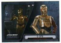 2016 Topps Star Wars Evolution Trading Card #74 C-3PO Resistance Interpreter