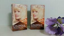 2 x Revlon ColorSilk Hair Color 03 Ultra Light Sun Blonde