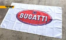 Bugatti Flag (3x5 ft) Auto Car Racing Garage Mancave Wall