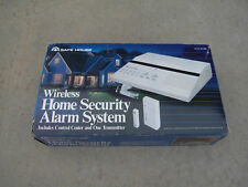 Radio Shack 8zone Safe House Wireless Home Security Fire Alarm System 49-403 NEW