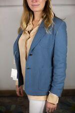 Max Mara Zero Cashmere Blazer - Blue - US Size 4