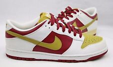 Nike Dunk Low 6.0 Crimson Citron Shoes 314142-631 DEADSTOCK Display Shoes Sz. 12