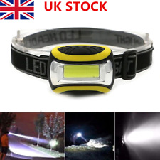 Outdoor Head Torch For Fishing Running Mechanics Very Bright 12 LED 3 Modes Home